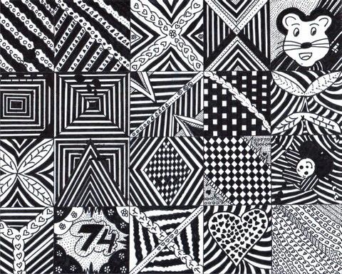 1. Unsur-unsur karya seni rupa  subhandepok