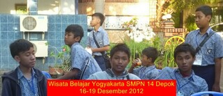 Wisata belajar yogya 20122