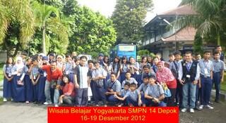 Wisata belajar yogya 201256