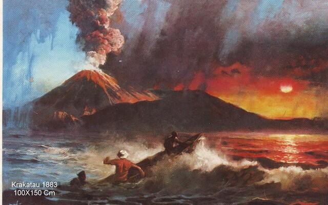 BasukiAbdullah krakatau 1883 (100x150 Cm)0001