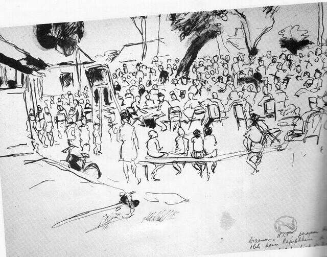 Sketsa Henk Ngantung11
